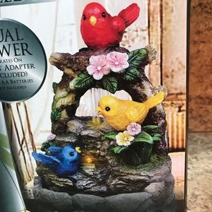Feathered Friends LED Fountain New in box!